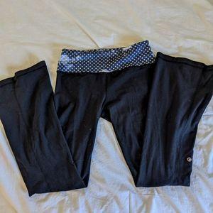 Lululemon Reversible Polka Dot Pants